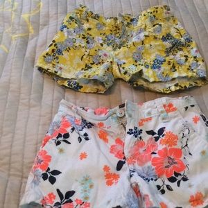 Old Navy -Girls shorts  size 7  100% cotton